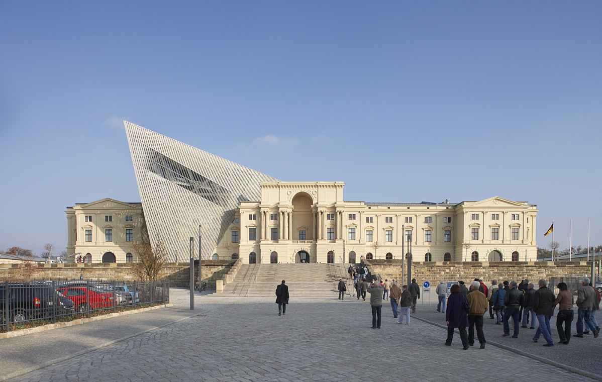 Daniel Libeskind, Military History Museum, Dresden, Germany