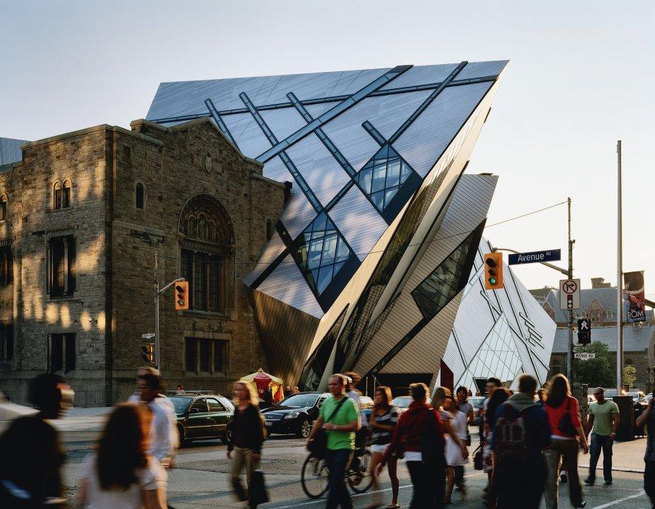 Daniel Libeskind, Royal Ontario Museum, Toronto, Canada