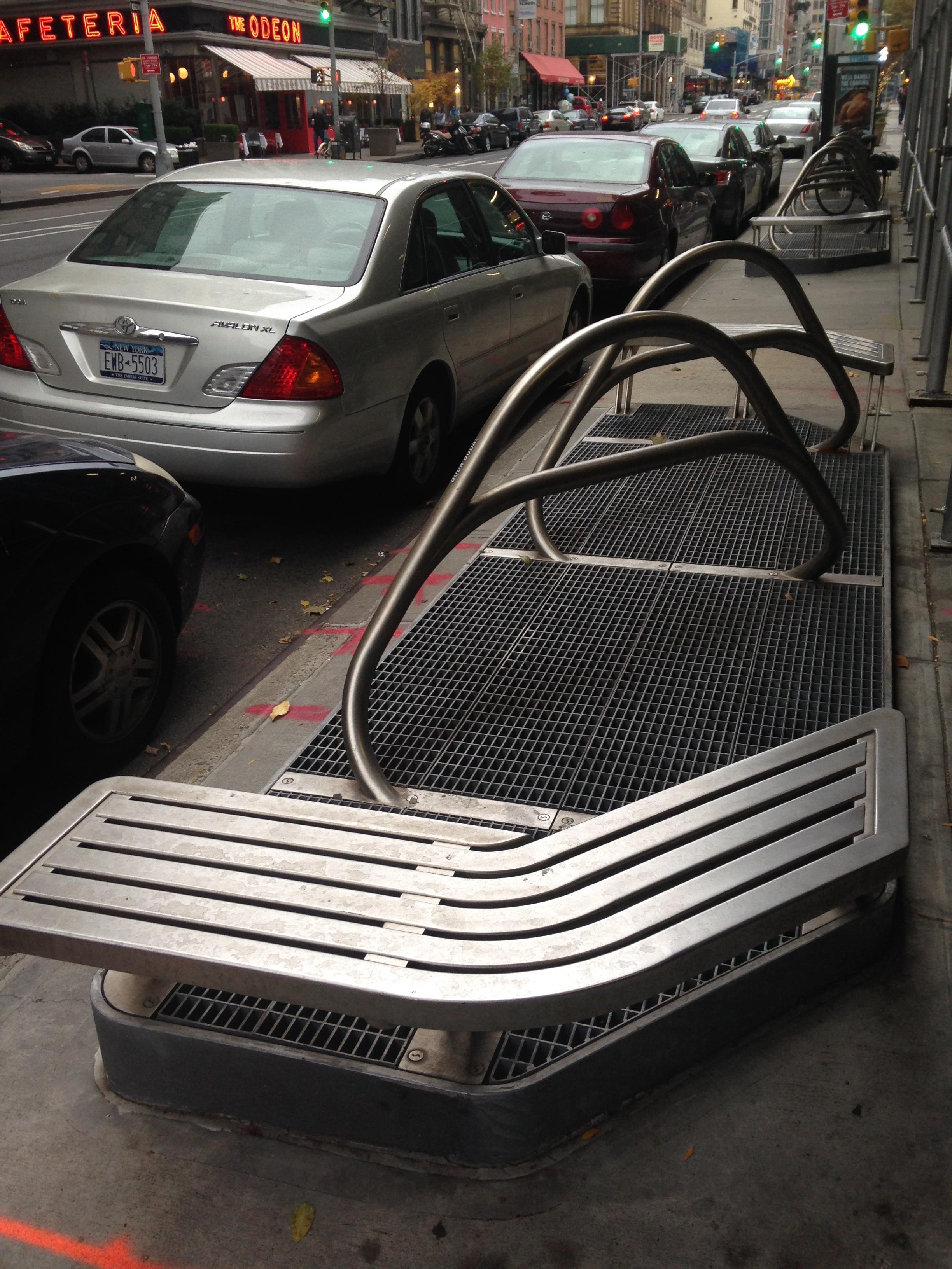 bench-and-bike-rack
