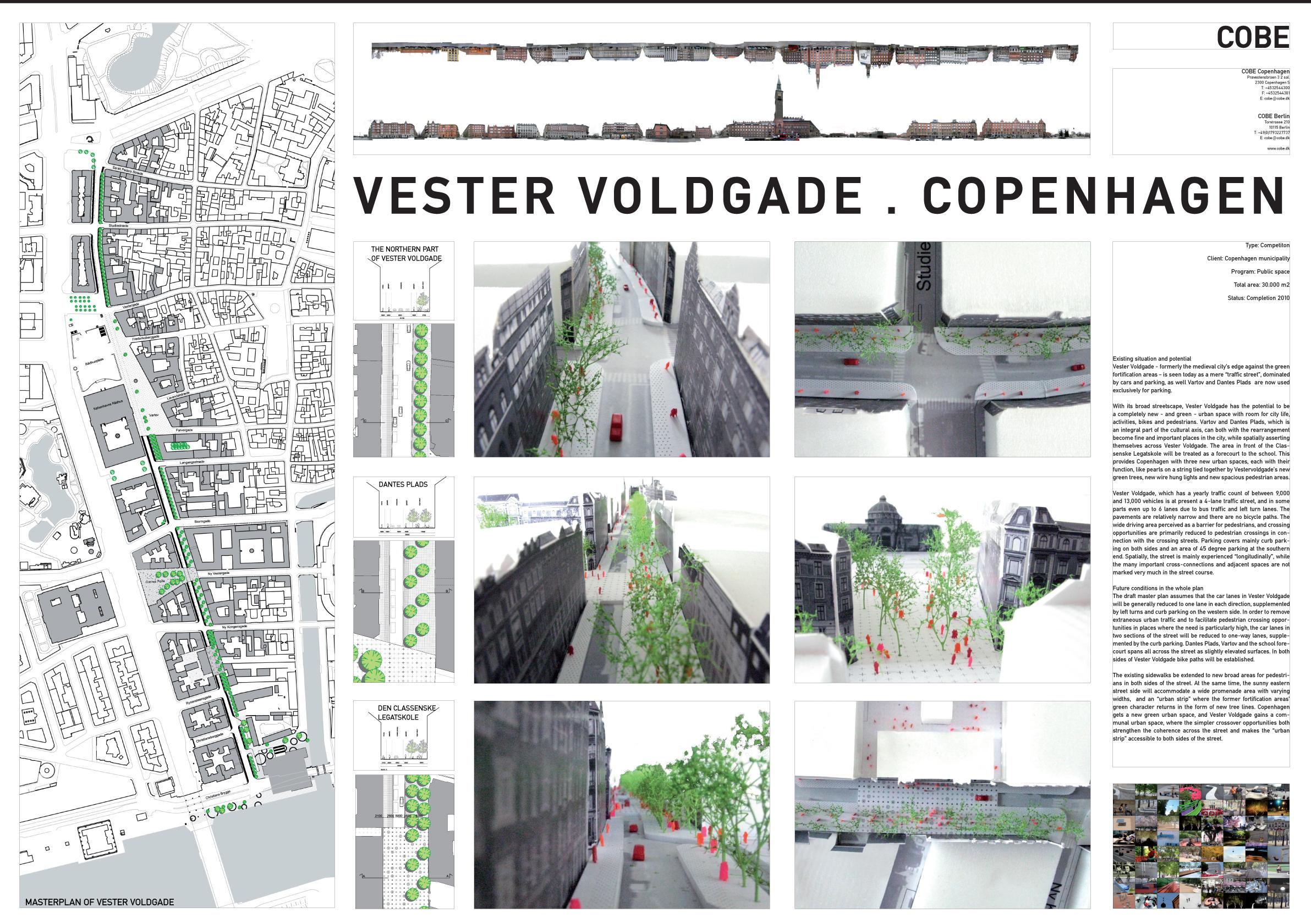 COBE, Vester Voldgade, Plan, 2013.